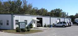 Clean, well maintained Shamrock Acres Industrial park
